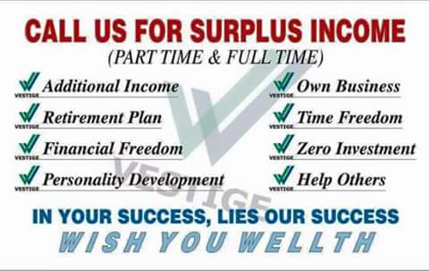 CALL US FOR SURPLUS INCOME