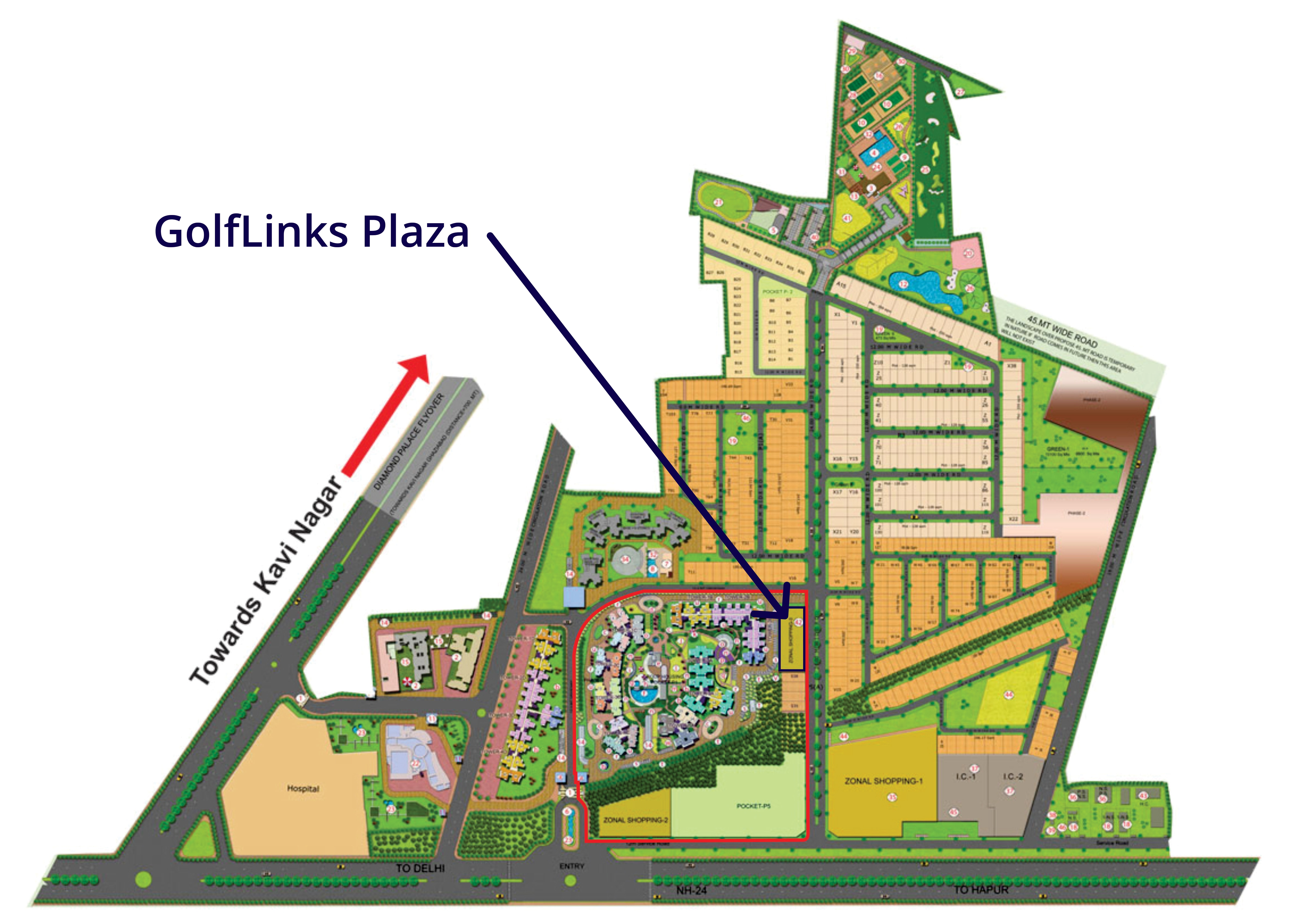 #golf link nh-24  #golflinks ghaziabad  #landcraft developers  #landcraft golf links  #landcraft golf links price list  #landcraft nh-24  #landcrafts  #organic home  #organic homes in ghaziabad  #skardi greens nh 24  #wave city nh24 ghaziabad   GOLF LINKS PLAZA- GolfLinks Plaza, located on NH-24 in GolfLinks, is one of the commercial developments of LandCraft Developers.