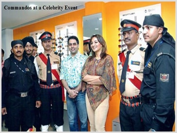 we are provide celebrities security guards in ahmedabad gujarat and india.with best services in all pan  india location   FOR MORE DETAILS sissgroup.com