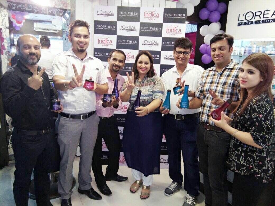 L'Oreal professional pro fiber product launched@ Indica makeover studios