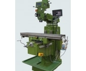 Ram Turret / M1tr Milling Machine A Ram turret milling or a M1TR Milling has a stationary spindle and the table is moved both perpendicular and parallel to the spindle axis to accomplish cutting. Turret mills often have a quill which allows the milling cutter to be raised and lowered in a manner similar to a drill machine. This type of machine provides two methods of cutting in the vertical (Z) direction: by raising or lowering the quill, and by moving the knee. These machines are extensively used in the tool room industry due to its versatility and ease of use. The tasks like tool change, spindle RPM change, setting the turret head in a universal degree, precise positioning X & Y coordinates with the help of DRO etc... are very easy and can be done very fast which makes the machine extremely user friendly & versatile. A large number of operations are possible like drilling, boring, jig boring, reaming, face milling, etc.