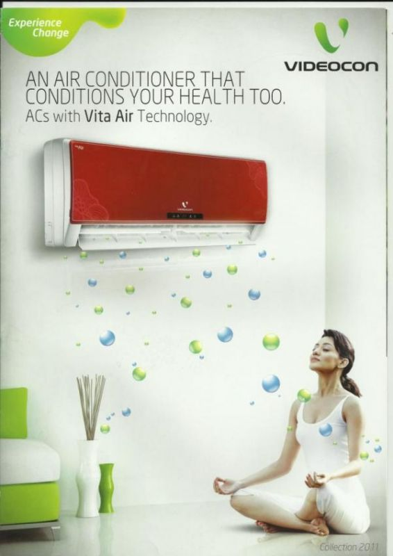 Split AC. Videocon presents to you its most desired range of Split Air Conditioners. Cutting edge technology is used to give you an impeccable cooling
