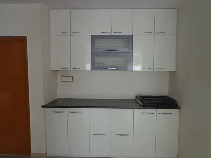 Best Place To Buy Modular Kitchen In Vadodara Baroda Ply Laminate With Plywood Partition