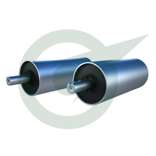 The Magnetic Tail Pulley is similar in function to magnetic pulley but for the only exception is that they are present at the tail end of the belt conveyor and proceed with ferrous separation. The Magnetic Tail Pulley most often uses permanent magnet when specific occasion arises electro magnets may be used.