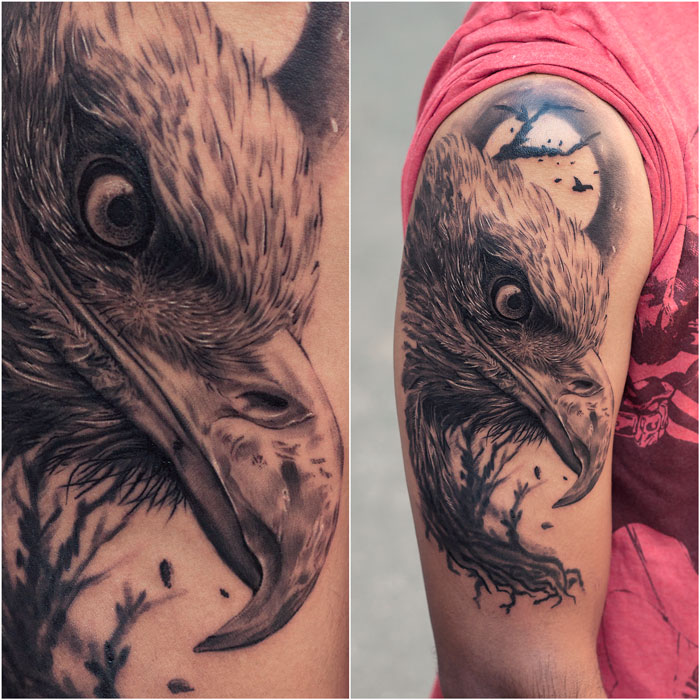 Searching Tattoos in Mumbai  Your search ends at Aliens Tattoo - one of the top-notch Tattoo Studios with Best Tattoo Artists in Mumbai, Realistic Tattoos & Portrait Tattoos are the forte of Aliens Tattoo, Mumbai