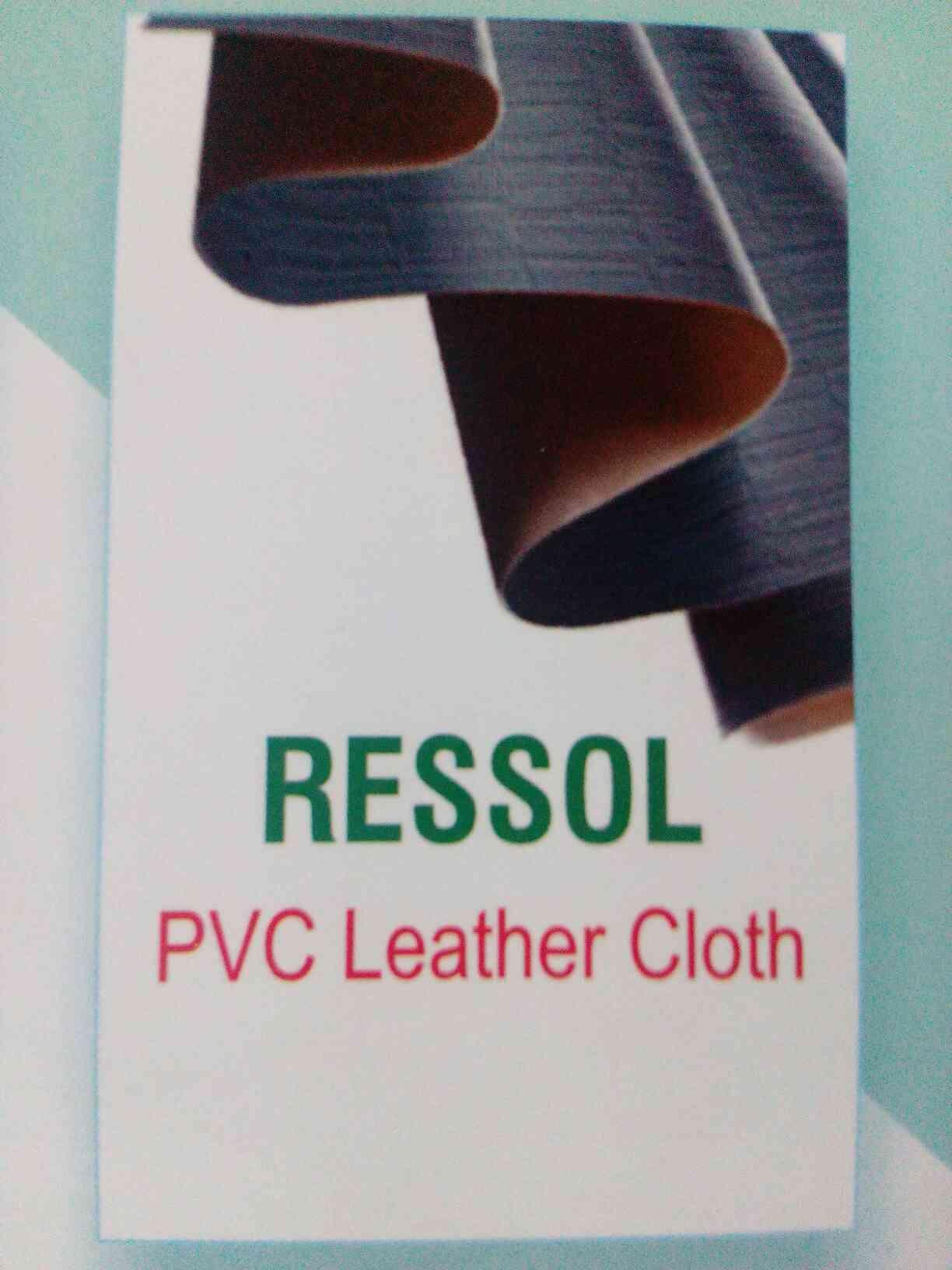 ressol pvc leathe cloth