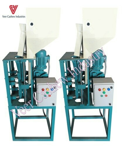 Fully Automatic Cashew Cutting Machine  Veer Cashew Industries are a renowned manufacturer of Fully Automatic Cashew Cutting Machine.  We are located in Kapadwanj, Gujarat.  We are a leading suppliers of Fully Automatic Cashew Cutting Machine in Jaipur Rajasthan.  We are a leading suppliers of Fully Automatic Cashew Cutting Machine in Orissa, India.