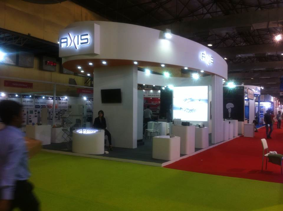 Latest stall in automation 2016, executed by TOM Advertising Pvt Ltd.