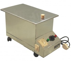 Hydrocollator Manufacturer in Chennai  The benefit of moist heat treatment for arthritis, bursitis, muscle spasm, back pain and joint stiffness is recognized by leading medical and sports training experts everywhere. However, the biggest challenge has been heating your heat pack to the right temperature quickly. That's where the HMSHYDRO Heating Unit comes in! With the HMSHYDRO Heating Unit, you can quickly and consistently heat packs that last up to 30 minutes for pain relief. No need to worry about your heat pack being too hot or too cold – a thermostat on the HMSHYDRO ensures consistent, reliable temperatures to deliver deep, penetrating pain relief. The HMSHYDRO Heating Unit is made of durable, maintenance-free stainless steel, ensuring a long product life. Its 15lt. tank heats up to an ideal 160° F in just 1 hour, and cool-down takes approximately 3 hours. Because it's portable, the HMSHYDRO Heating Unit allows you to bring reliable, consistent heat therapy to your patients just about anywhere.