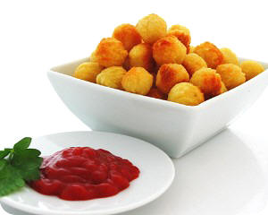 Potato Ball Delicious Culture