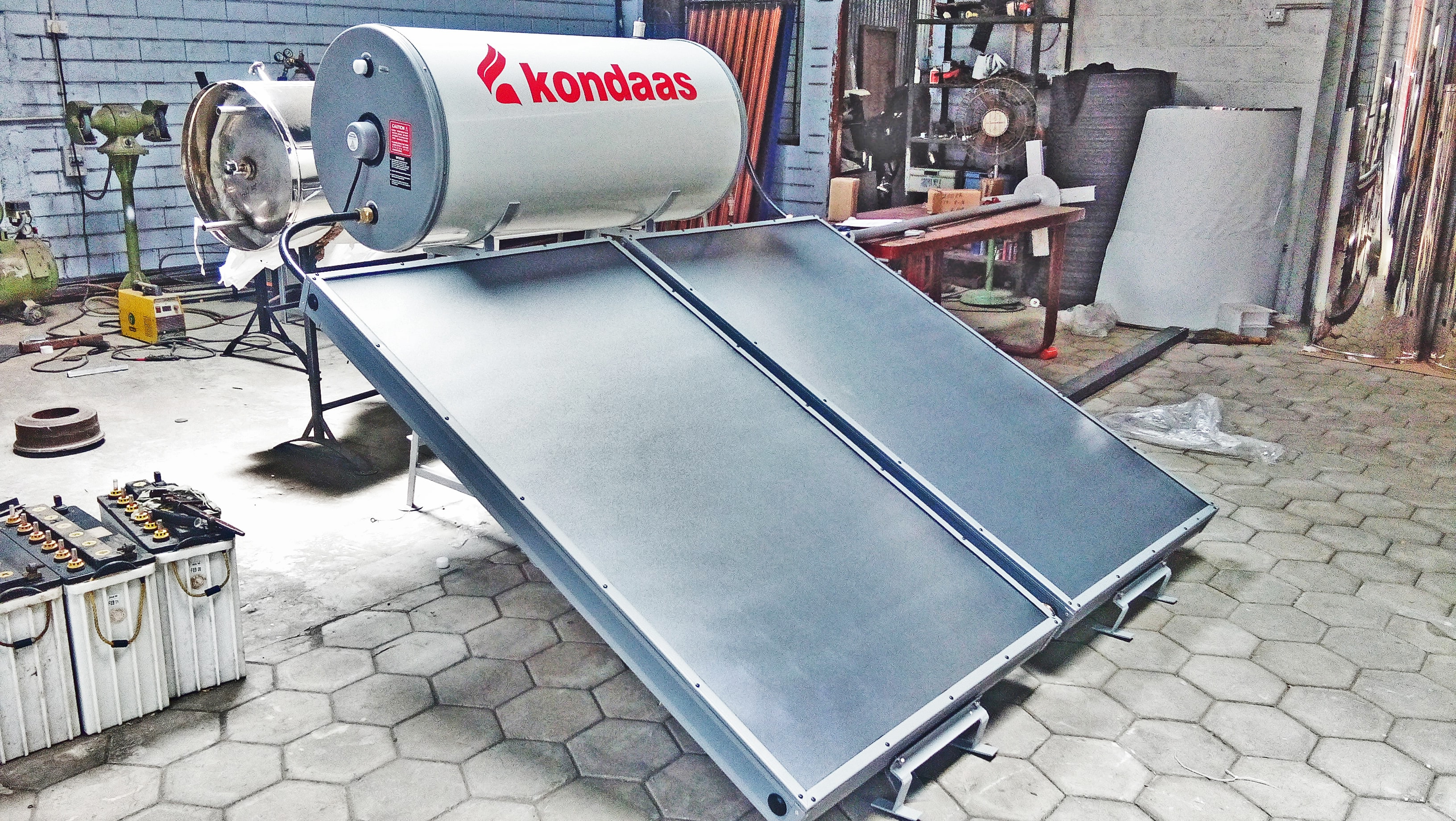 We are introduced the new solar water heater. Know more.............. Contact Kondaas