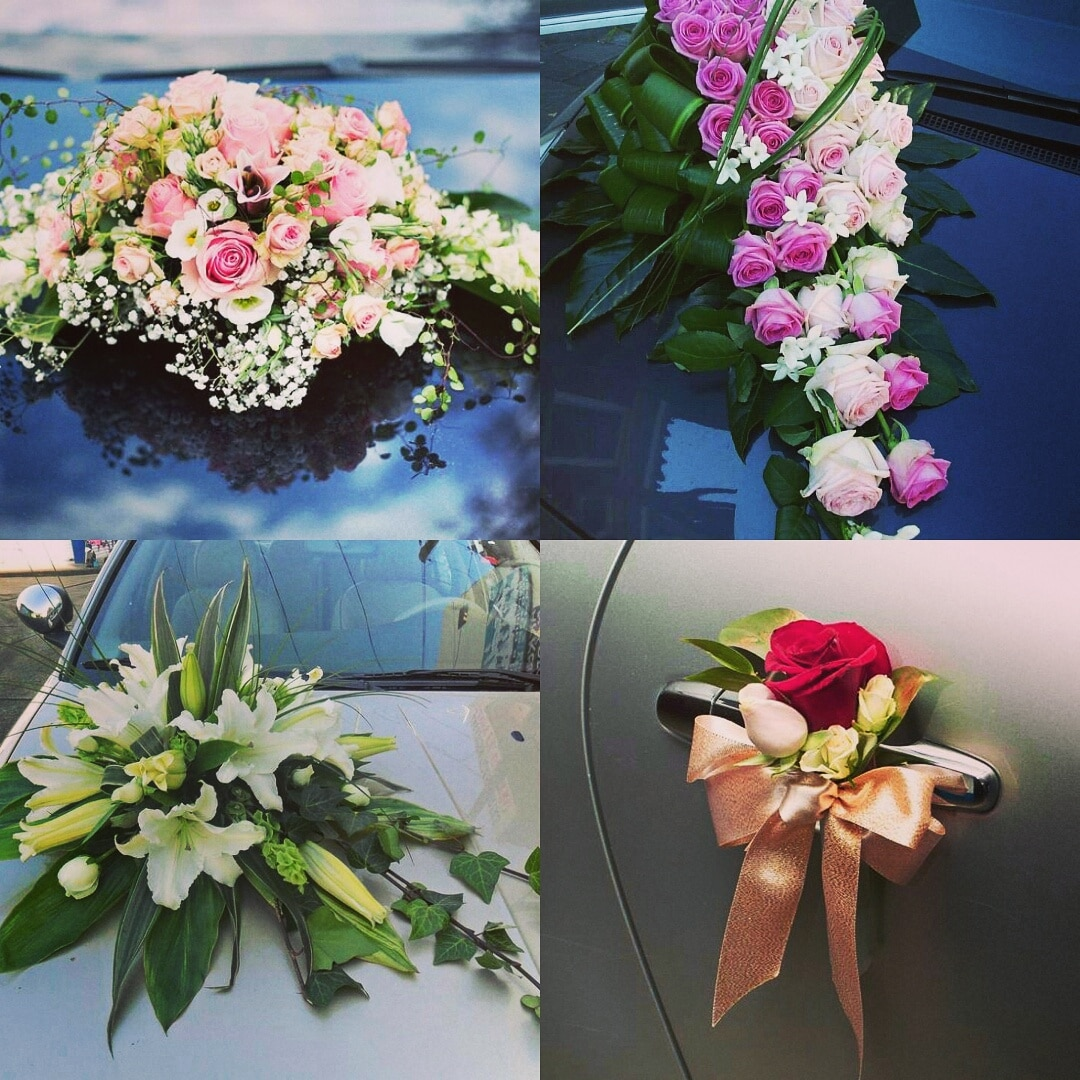 Wedding car floral decoration ideas for an auspicious start to the wonderful journey you are going to embark Inspired Wedding Decor and wedding planning in kanpur