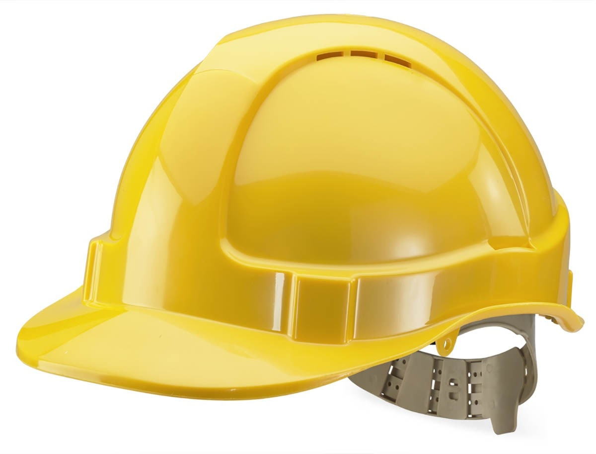 we are the leading supplier for safety helmets in hyderabad, Telangana, Secunderabad, Ranigunj Ideal for workers on construction sites, these safety helmets are specially designed to secure the sensitive parts of the brain. Being made of superbly strong material, these helmets are able to cover the entire head offering excellent protection in the unfortunate event of any mishap that comes with a risk of severe head injury.
