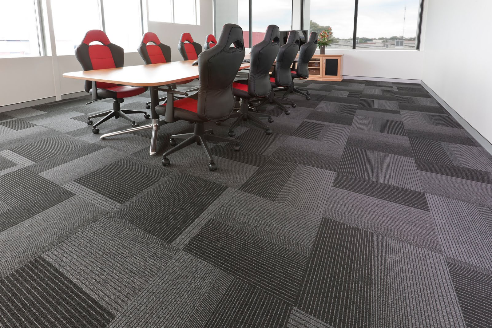 Suppliers of Carpet Tiles in Mumbai  Known for supplying and trading, we are offering the quality-oriented range of Designer Carpet Tiles. These carpet tiles give an astonishing look to your floor.   Features:   Beautiful colors and designs  1st grade nylon  Professional applicators  Fire retardant  Tear resistant