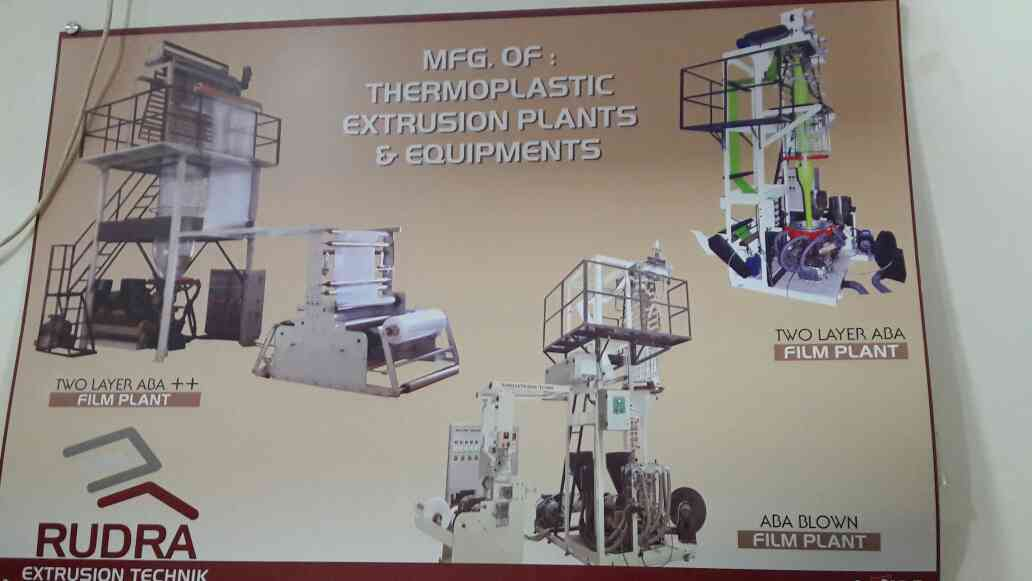Manufacturers and suppliers of Thermoplastic Extrusion plants and Equipments..