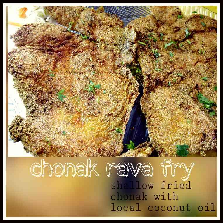 #Chonak rava fry... #Freshfish #catchoftheday #tasteofgoa #Kismoor #bestplaceforfreshfishingoa #GOAN food