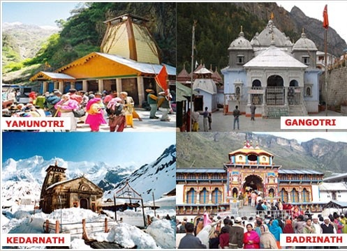 "Chardham Yatra – 12 Days:   Day 1: Arrival at Haridwar  On arrival at Haridwar Railway station transfer to Hotel. Evening visit Har Ki Pauri for Ganga Arti. Later back to Hotel for dinner and overnight Stay.   Day 2: Haridwar – Barkot  This morning leave for Barkot, the feet of Yamnotri. Transfer to hotel and relax for the rest of the day to save energy for Pad Yatra of Yamnotri. Overnight in Hotel.  Day 3: Barkot – Yamnotri (3293m) – Barkot  After breakfast, take pack Lunch and we depart to Jankichatti Here we will begin our first Pahad Yatra of Yamnotri. Able to hire a Doli for your journey (cost not Included), after the Darshan at Yamnotri, return to our hotel in Barkot. Overnight in Hotel.  Day 4: Barkot – Uttarkashi  This morning we depart for Uttarkashi. On arrival check in and lunch at Hotel. Evening visit to the Kashi Vishwanath Temple. Check-in at hotel. Overnight in Hotel.  Day 5: Uttarkashi – Gangotri (3048 mts) – Uttarkashi  Today travel to Gangotri, our second Pahad Yatra. Participation In Prayers and Darshan at Ganga Temple and Holy River Ganga. Later enjoy lunch and return to our hotel at Uttarkashi. Overnight in Hotel.  Day 6: Uttarkashi – Guptkashi  Early today proceed to Guptkasi. On the way have a look at magnificent view of Tihri Dam & Alknanda – Mandakini sangam (Milan) at Rudraprayag. Overnight stay at Guptkasi.  Day 7: Guptkashi – Kedarnath (3584 mts)  Today morning we depart to Kedarnath. Amidst the dramatic mountanscapes of the majestic Kedarnath Range stands one of the twelve ""Jyotirlingas"" of Kedar ji or Lord Shiva. Hire Doli or Pony (cost not included). Overnight in Kedarnath.  Day 8: Kedarnath darshan – Rudrapryag  Today we do Kedarnath Darshan and start descending by Doli or Pony (cost not included). Later drive towards Rudraprayag.  Day 9: Rudrpryag – Badrinath (3133 mts)  Early morning proceed on an almost full day drive to Shri Badrinath dham, evening visit Shri Badrivishal Temple. Overnight in Hotel.  Day 10: Badrinath – Srinagar Garhwal  Early morning visit Badrivishal Temple and Garam Pani Kund (Natural Hot Water Bath). Later Visit the Ganesh Gufa and the Vyas Gufa, Shri Mahaprabhu Temple. Later proceed for Srinagar & arrive by late evening. Overnight stay at Srinagar.  Day 11: Srinagar Garhwal – Rishikesh  After breakfast proceed to Rishikesh. After check in to hotel visit religious sites of Geeta Bhawan, Lax man Jhoola & Ram Jhoola. Evening free for Shopping etc. Stay overnight at Rishikesh.  Day 12: Rishikesh – Haridwar  After breakfast depart for Haridwar railway station.  Please call for Date and Prices"