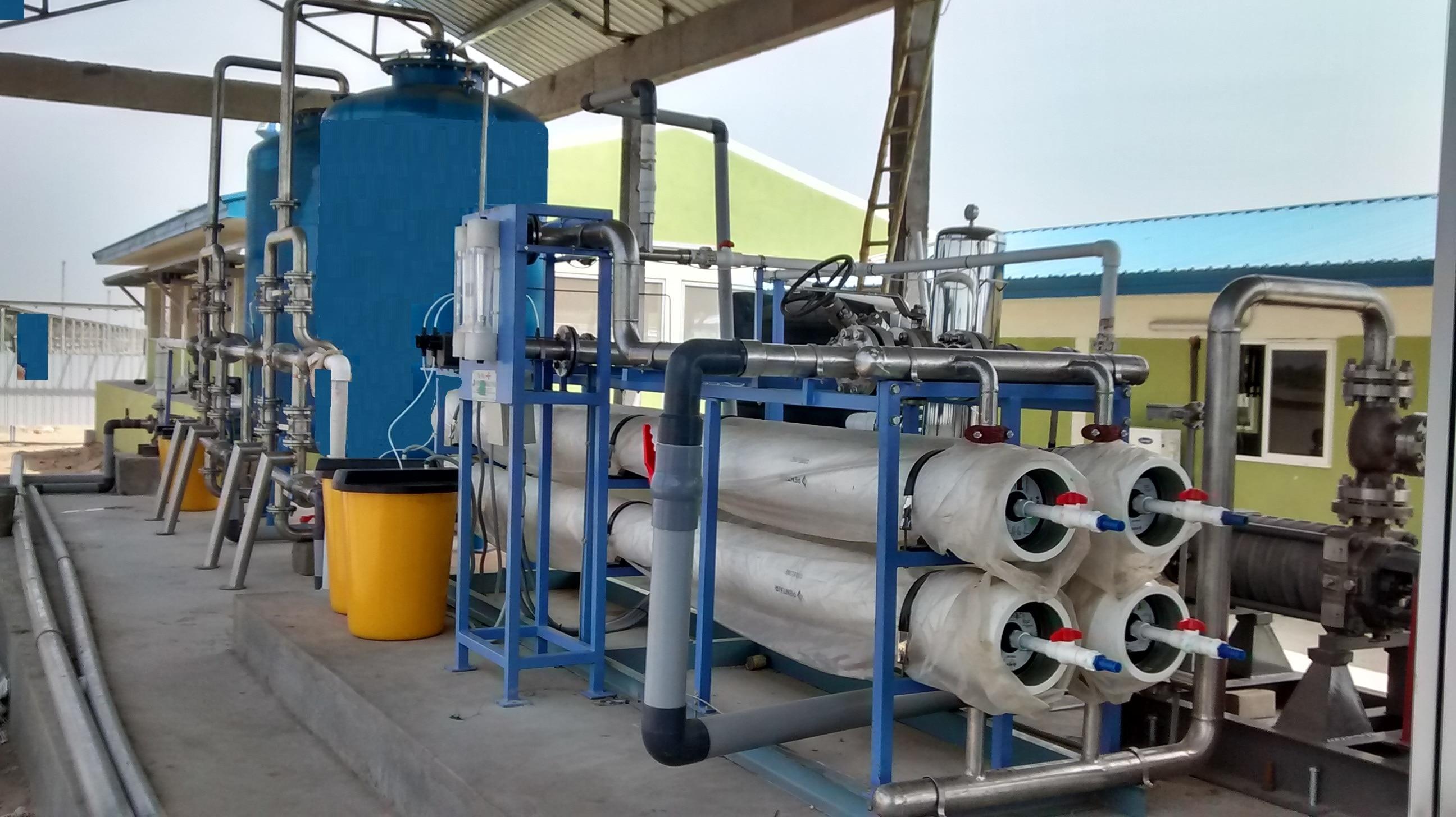 WTP STP DESALINATION PROCESS TREATMENT PLANTS ZLD DRINKING