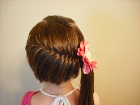 Romantic Side Ponytails for Long Hair in Beauty Studio  It is the perfect side pony for any occasion. This side pony looks and works best with finer hair. It helps if the hair is a bit wavy or a little more on the straight side.