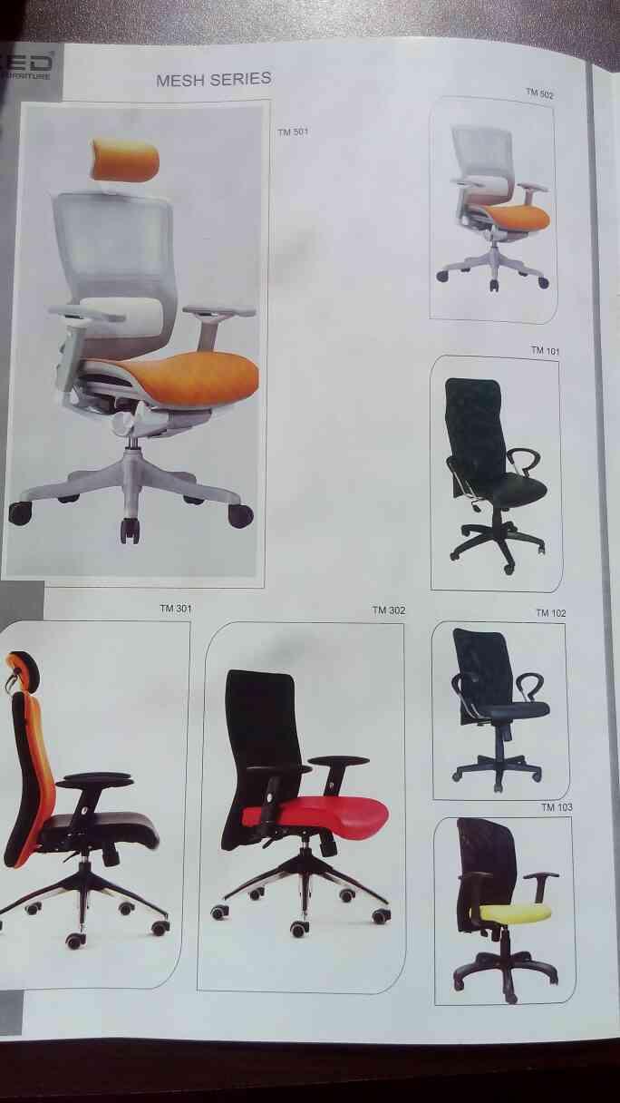 mesh series chair manufacturer in Vadodara Gujarat.