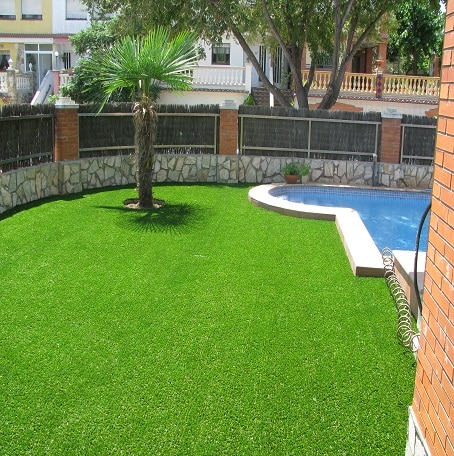 Suppliers of Artificial Turf, Artificial Grass In Mumbai  Artificial grass is one of the fastest growing artificial grass brands in India.   In gardens large or small, in playing fields professional or amateur, It can be enjoyed at any location particularly in places where grass could never normally grow,   Provides the fresh look and experience of natural grass.   Ideal for Gardens, Terrace Gardens, Balconies, Public Parks, Patios, Swimming Pools and Spa's surroundings, Sports Surfaces, Playing Area, Schools and Nurseries, Commercial Spaces, Indoor areas like trade shows, bedrooms, etc.   Advantages:   Feels like real grass  UV protected and fade resistant  Lead free  Fire retardant  No watering, mowing, fertilizers and reduced use of herbicides and pesticides  Estimated product life 15–20 years  Easy to install  Pet-friendly  Has an insulating effect on terraces or balconies thus reducing energy consumption