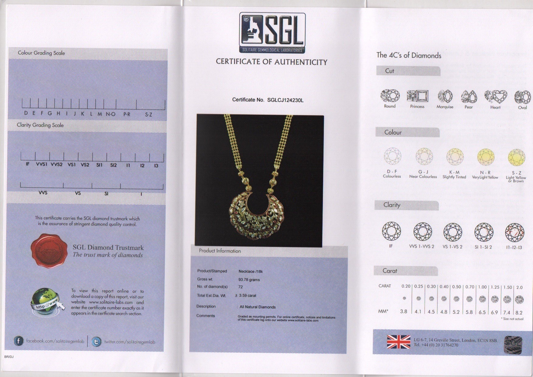 Necklace Manufacture