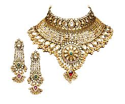 Antique Gold Jewelle