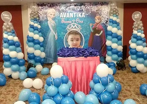 Thanks to Mum & Dad of Avantika for giving us the opportunity Scope of work Frozen Theme Decoration / Lighting / Photography/ Design www.midor.in #mdiorevents #midorentertainment