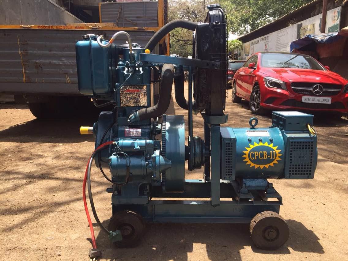 Sales, purchase and hiring of diesel generator set. 10 kva low noise diesel generator set price rs: 1, 20, 000/-