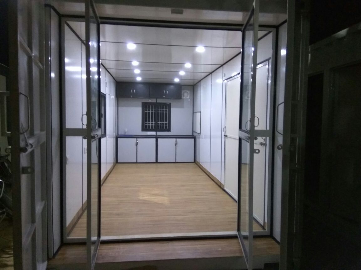 20'x16 ft. House Container With Kitchen and Toilet for sale