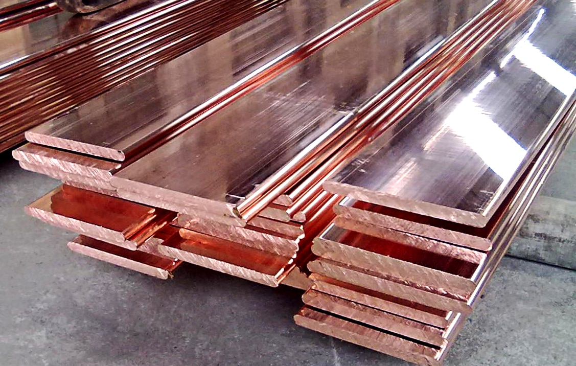 Manufacturer of total set of copper bus bar with silver and tin plating