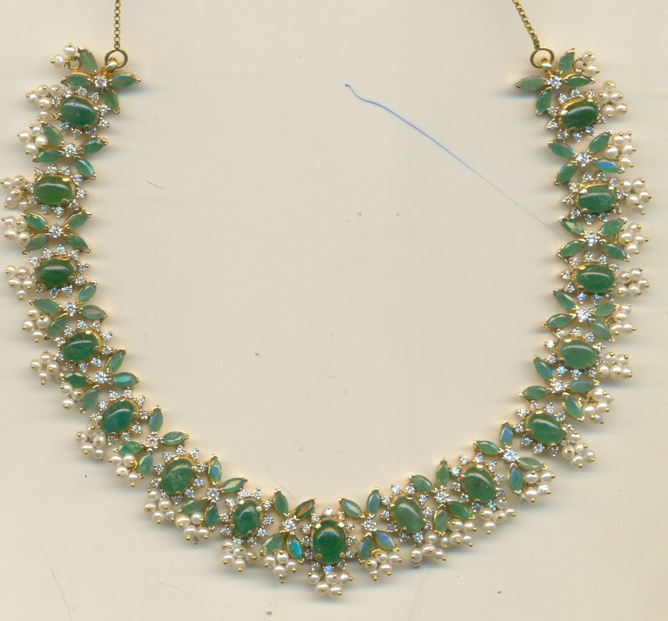 new emerald necklace