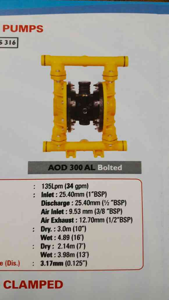 All types of AODD PUMPS SUPPLIERS in Dahej AODD PUMP SUPPLIERS IN PANOLI AODD PUMP SUPPLIERS IN SURAT  We never compromise in quality and after sales service