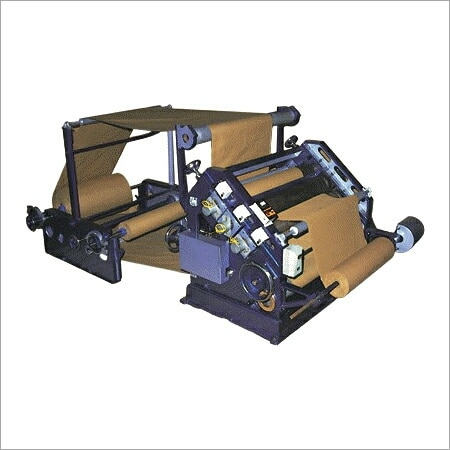 This Corrugation Machine has Bush mounted for manufacturing 2 ply corrugated board attached with motorized self loading arm lifting & twin. Unwinding shaft for paper reels.  Corrugation Machine in vadodara Gujarat