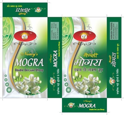 Mogra Agarbatti Packing Box  Product Description:  With rich industrial expertise and sincerity, we are best in offering best quality collection of Mogra Agarbatti Packing Box that are designed for keeping Agarbatti in best manner.     Features:         Many sizes available      Quality assured      Perfect approach      Modern finish      Perfect approach      Strong finish