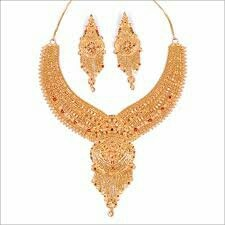 Gold Jewellery  Neelkanthvarni Jewellers are having a wide range of Gold Jewellery at showroom.   We are located at Alkapuri, Vadodara.