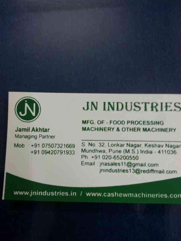 we are the best cashew nut machine seller in pune