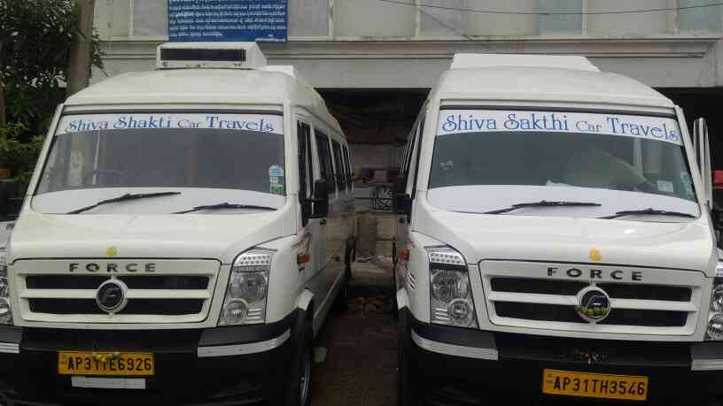 car hire for best prices.   tempo traveller