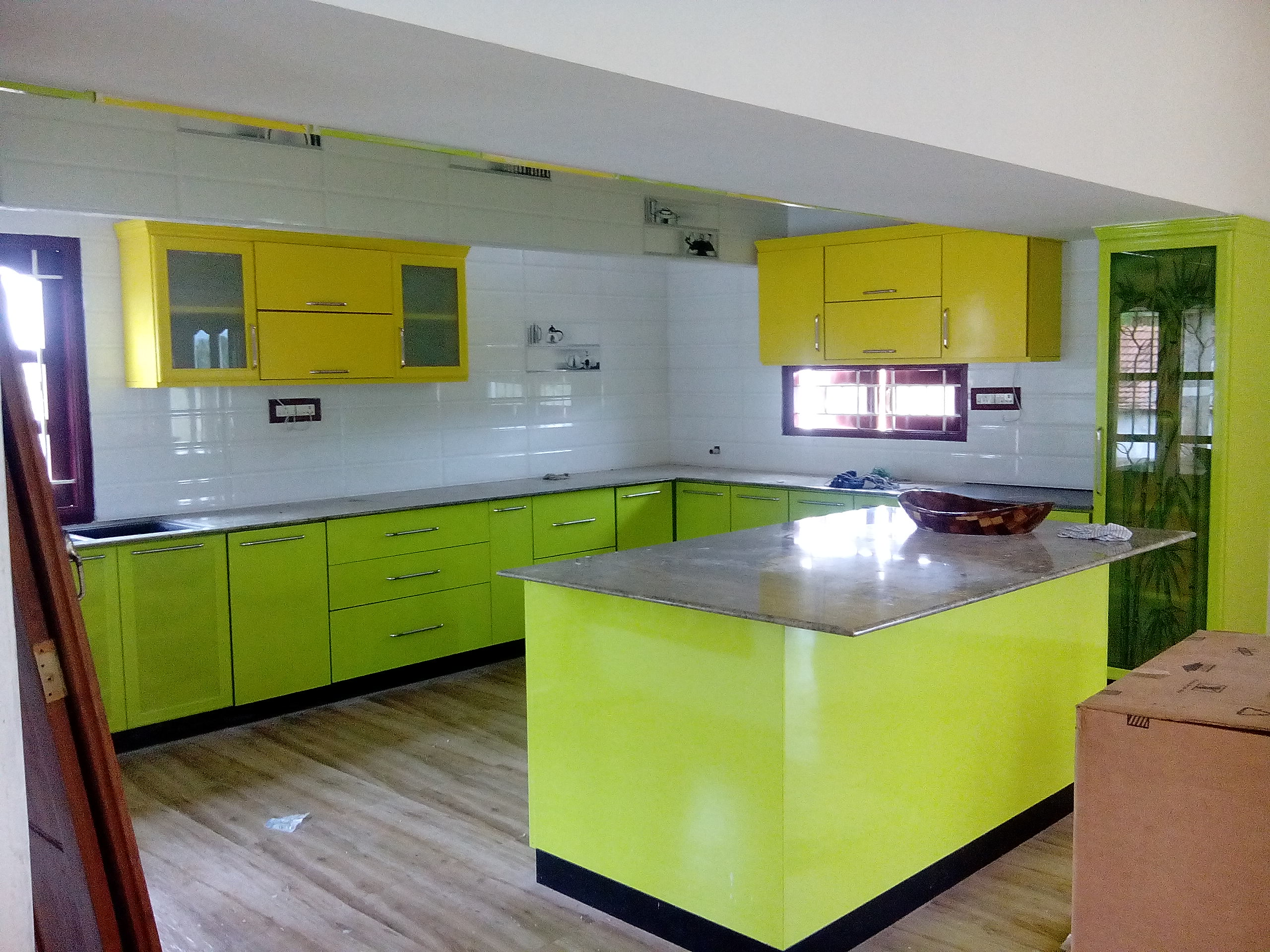 Modular kitchen is made as pre-made cabinets they can be assembled & reassembled according to the space usage need of the customer make your normal kitchen into a SMART KITCHEN WITH SMART INTERIORS
