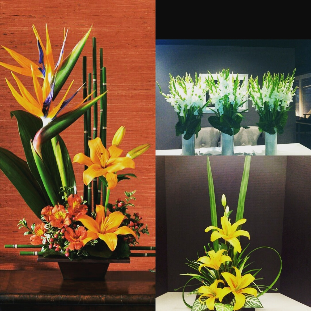 Corporate Floral Arrangements for Gifting your colleagues and seniors with lilies, gladiolas, bird of paradise. Surprise them with artificial dry flowers this Diwali.