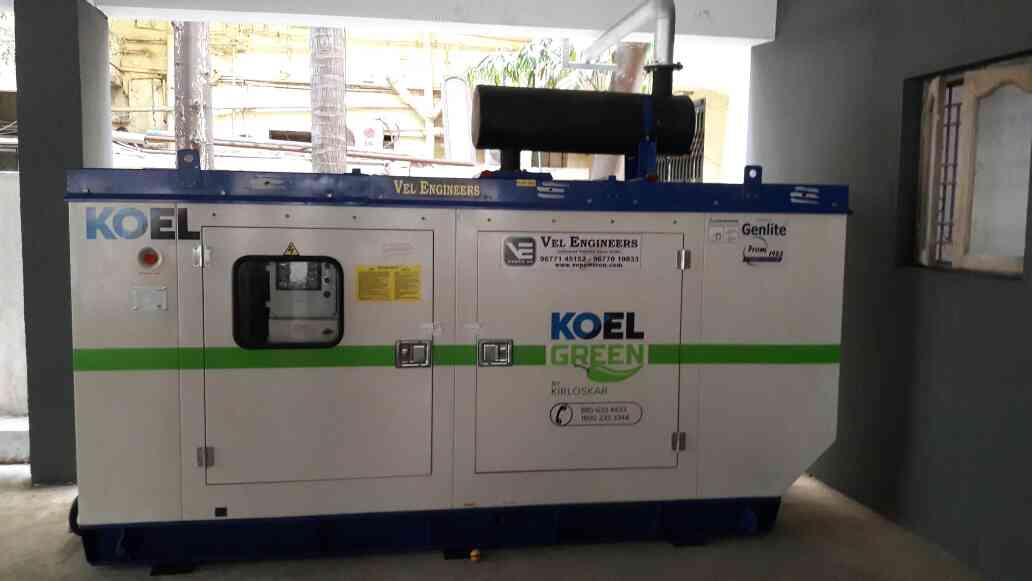 82.5kVA Diesel Generator from India's No : 1 Genset Brand Kirloskar Green