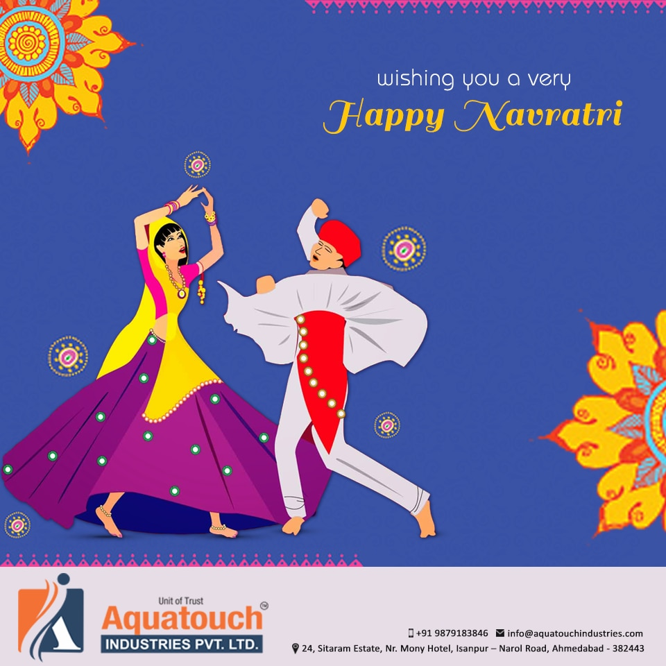May u were with Celebrate Navratri Dandia and Keep Your Spirits High Beats Tablet S is this special Oksasion.  Happy Navratri #Aquatouch #Industries