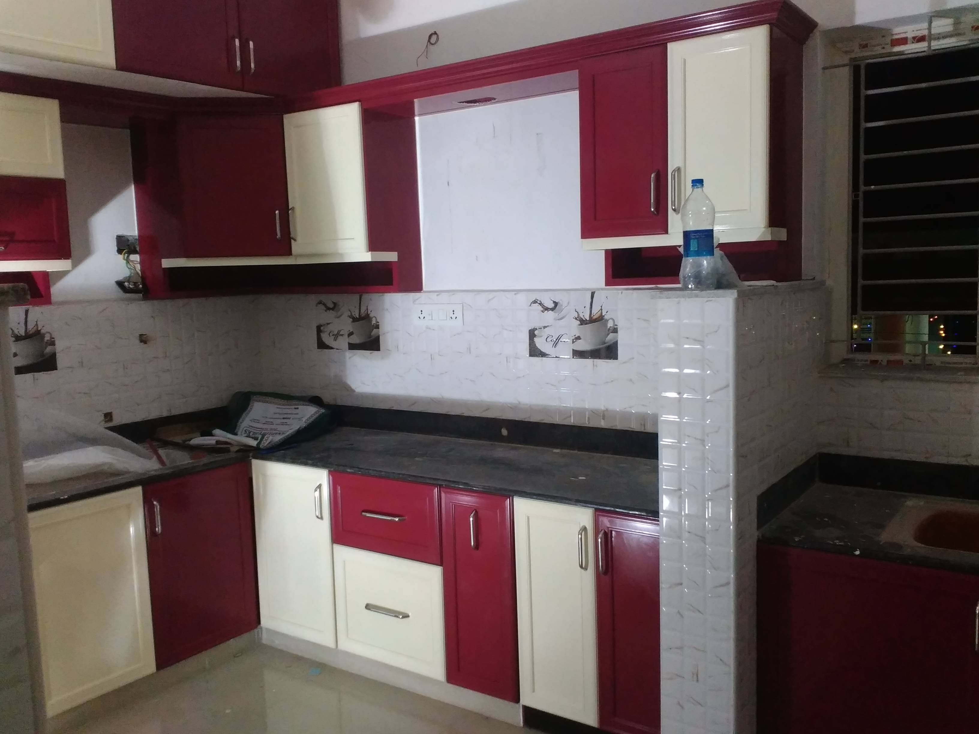 Elegant Aluminum Modular Kitchen Stylish ElegantItalianAluminumModularKitchen Design with All Acessiories for details 9443124016, 9442624016