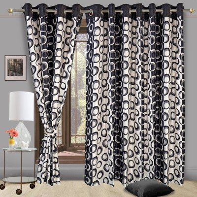 Buy black new drape curtain designs for bedroom windows online in India at cortinaindia.com®. ★ Material: Polyester