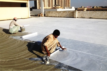 Beat the heat by our super summer cool coating solutions to increase your roof longevity & pleasant stay indoor without any need for an air cooler. Our special coating will reflect the dangerous UV rays, create moisture barriers in roof & develop a seal lock for any types of roof cracks.