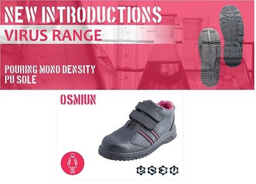 Introducing a All new Ladies Safety Shoes Range, from ACME.  In case of any inquiries please send a email to info@sanketsafety.com