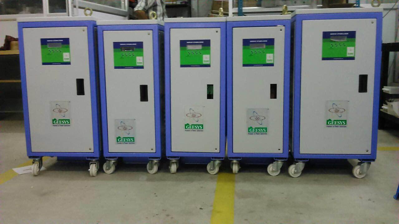 Servo Voltage Stabilizer Manufacturer in Chennai  We are a leading Manufacturer of Servo Voltage Stabilizer, Automatic Voltage Stabilizer, Servo Stabilizer, Oil Cooled Servo Stabilizer, Air Cooled Servo Stabilizer, Oil Cooled Servo Voltage Stabilizer  and Air Cooled Servo Voltage Stabilizer in India. Www.geesysindia.com