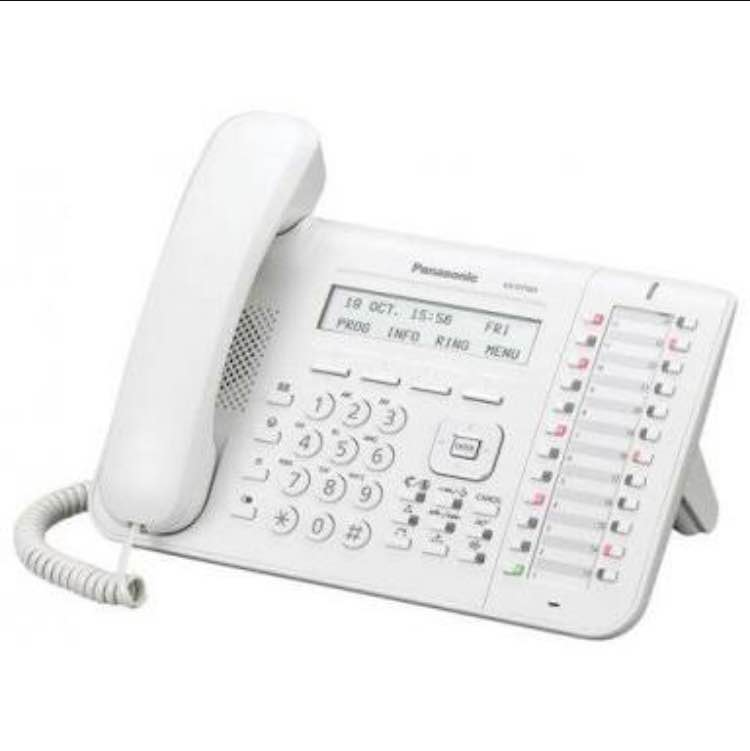 KX-DT543 Executive Digital Proprietary Telephone Executive digital proprietary telephone, with 3 line back-lit display, 24 programmable keys and full duplex speakerphone.  3-line Graphical LCD with backlighting 24 freely programmable function keys EHS (Electronic Hook Switch) Speaker Phone, handset and headset with full duplex Available in black and white colour