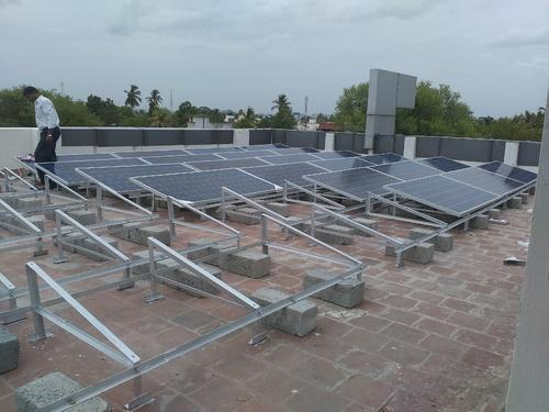 We are engaged in providing complete solution for Solar Roof Type Mounting Structure.