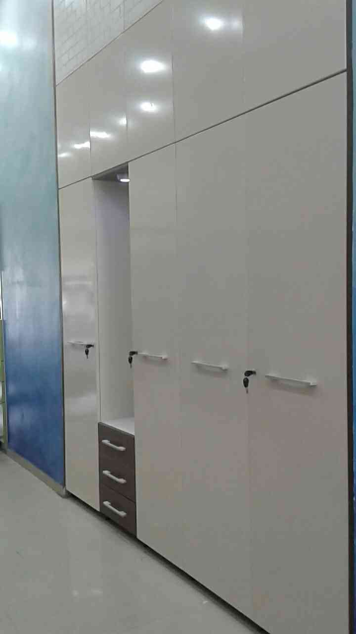 #Godrej Kreation customised wardrobe with galvanized steel for sturdiness, long lasting and Good looks too...